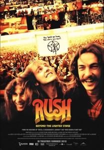 Poster documentário do Rush