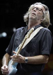 Eric Clapton comanda Crossroads Guitar Festival