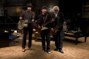 Jimmy Page, The Edge e Jack White