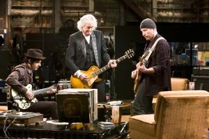 Todo o volume de Jimmy Page, The Edge e Jack White