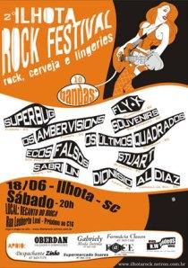 CARTAZ ILHOTA ROCK FESTIVAL 2005