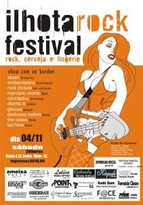 CARTAZ ILHOTA ROCK FESTIVAL 2006