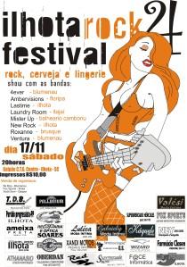 CARTAZ ILHOTA ROCK FESTIVAL 2007