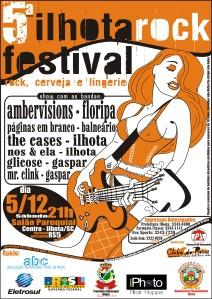 CARTAZ ILHOTA ROCK FESTIVAL 2009