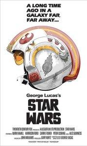 Pôsters dos filmes da saga Star Wars, inspirados em outros longas - Nascido para Matar