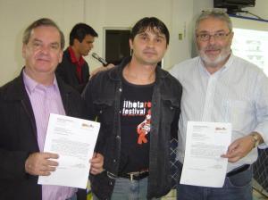 Deputado Peninha, Vereador Calinho e Paulo França