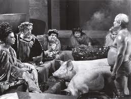 Frederico Fellini - Cenas do filme Satyricon de 1968