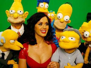 Katy Perry fará participação em Os Simpsons