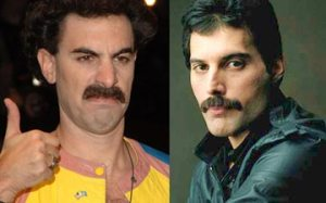 Sacha Baron Cohen - conhecido pelo papel de Borat - vai interpretar o lendário vocalista Freddie Mercury
