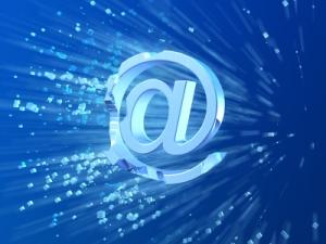 E-mail crash symbol