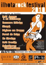 6ª edição Ilhota Rock Festival