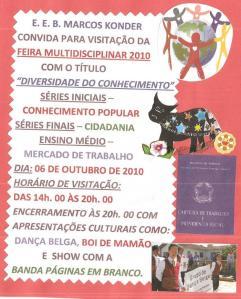 Escola Marcos Konder promove feira multidisciplinar