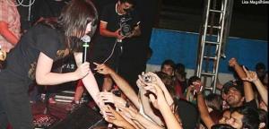 Festival rock feminino