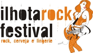 Logo do Ilhota Rock Festival
