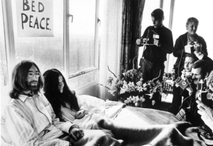 John Lennon e Yoko Ono