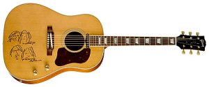 Violão John Lennon da Gibson (Violões da série Imagine)