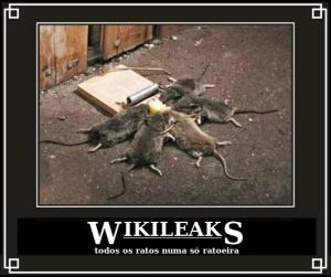WikiLeaks, todos os ratos numa só ratoeira!