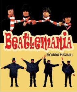 Livro A Beatlemania, de Ricardo Pugialli