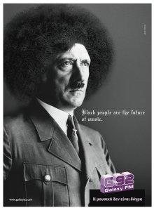 Adolf Hitler em sua fase Jackson Five