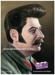 Josef Stalin lembrando que Elvis não morreu