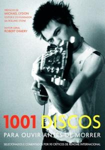 """Capa do livro """"1001 Discos Para Ouvir Antes de Morrer"""""""