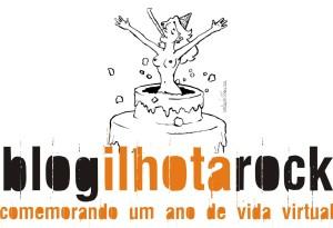 Logo aniversário do blog do Ilhota Rock