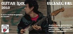 Luciano Bilu - Guitar Idol 2010