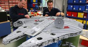 Parque de diversões Legoland terá área dedicada à série Star Wars