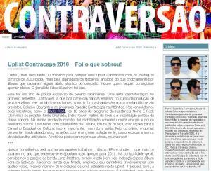 Uplist Contracapa 2010