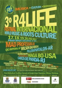 Cartaz do R4life