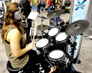 Roland apresenta nova V-Drums na Califórnia