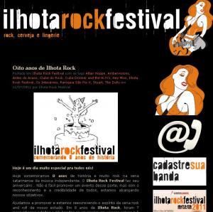 Blog do Ilhota Rock