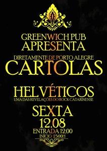 Helvéticos e Cartolas no Na Greenwich Pub