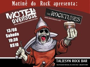 Matinê do Rock com Motel Overdose e The Rocktunes.