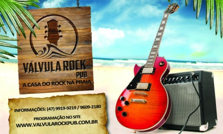 Banner Válvula Rock Pub