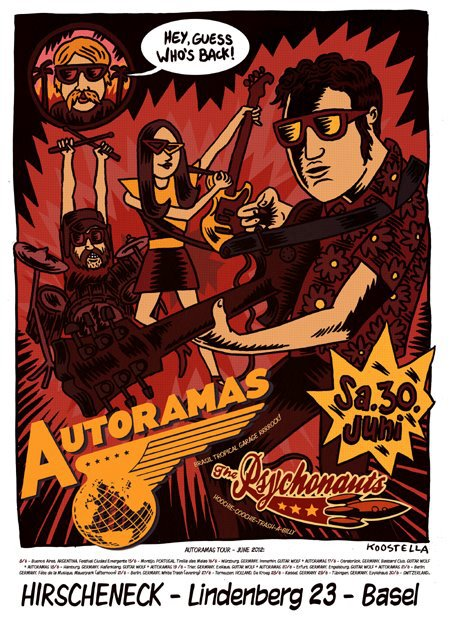 AUTORAMAS EUROPEAN TOUR 2012