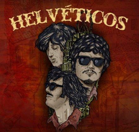 Capa do disco dos Helvéticos