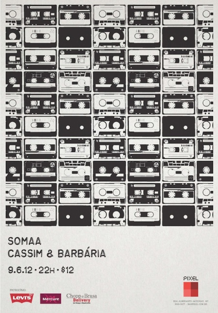 Somaa no Cassim & Barbaria - Bar Pixel